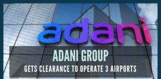 The Union Cabinet accorded its approval for leasing Jaipur, Guwahati, and Thiruvananthapuram for Operation, Management, and Development to Adani Group, who is declared as the successful bidder in a Global Competitive Bidding