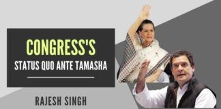 What is holding the Congress party back from electing a new leader? Rahul Gandhi does not want to hold that position, and Sonia Gandhi does not want to continue as interim chief