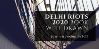 Who is picking up the bill for Bloomsbury to promote and then cancel Delhi Riots 2020 - The Untold Story at the last minute?