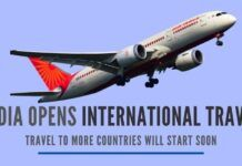 """India's Civil Aviation Ministry has entered into an """"air bubble agreement"""" with the USA, UK, Germany, and France for international travel"""