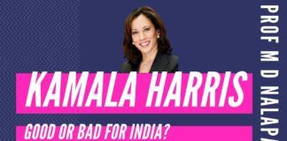 Prof M D Nalapat was one of the first to predict a Biden-Harris team as early as in 2019. Now that his prediction has come true, what does it mean for the India-US relations. Have Sanders' Pak sympathizers jumped ship to the Biden-Harris bandwagon? The real reason various Democratic City Councils are voting against CAA. A $156 million purse from an advocate of anarchy.