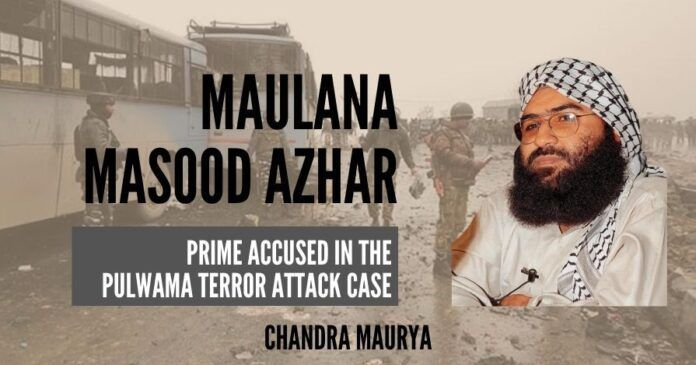 NIA filed its 13,800-page charge sheet in the special NIA court in Jammu against Maulana Masood Azhar and 18 others