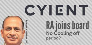 The recent appointment of Ramesh Abhishek as a director on the board of Cyient Limited has set tongues wagging in the industry as well as bureaucratic circles