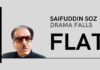 Saifuddin Soz tries to create fake hysteria by having his wife file a Habeus Corpus in the Supreme Court; case dismissed