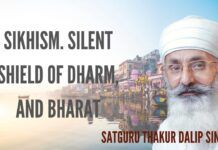 Prof Arvind Chaturvedi in conversation with Satguru Thakur Dalip Singh ji on Sikhism - the silent shield of Dharma & Bharat