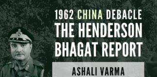 Ashali Varma, daughter of Lt. Gen. Prem Bhagat, who wrote the complete truth of the 1962 China debacle which could have been entirely avoided, if Nehru/ Krishna Menon had paid attention to his Intelligence report of 1959. Forward posts with tennis shoes/ plain uniforms, no air support when it could have won the war for India and much more!