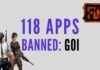 Leading the world, India bans 118 Chinese Apps including PUBG
