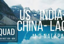 Even as the External Affairs Minister returns after a meeting with his Chinese counterpart, the fact remains that China is staying put. What are India's options moving forward, what does it need to do with QUAD and in particular why should the US come to India's help is discussed in great detail by Prof. M D Nalapat. A must watch!