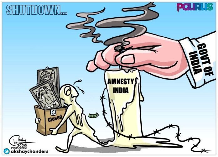 Amnesty meltdown: final admission that they have been put in their place?