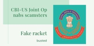 A malware ransom racket spread across India and the US has been busted thanks to a joint CBI-US agencies co-operation