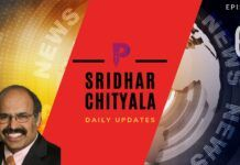 #Episode6 Daily Updates with Sridhar - Crisp, Clear and Concise look at the day ahead