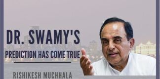 Dr. Swamy predicted in 2002 that India will be the third-largest economy by 2020, after the US and China