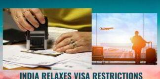 India opens up international travel. Except tourist visa, all VISA's are allowed