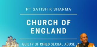 First the Church of England was declared guilty of being deeply institutionally Racist, a bastion of White Supremacy; today the UK Govt IICSA Report condemns Church's Decades of Child Sexual Abuse Cover Ups, says Pt. Satish K Sharma. The report details years of concealment by the Church of sexual abuse. A must watch!