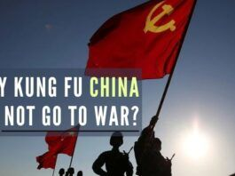 PLA is too busy liberating people from inside China to be ready for the dynamics of full-spectrum war outside