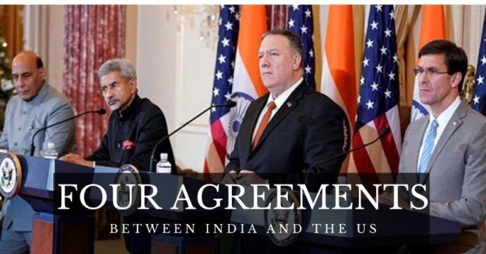 India, US sign four agreements to strengthen the four pillars of strategic partnership