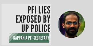 UP Police punctures the lies of PFI and exposes Kappan for what he is - a PFI secretary under the garb of a journo