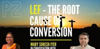 Using a 1935-born church the LEF as an example, Mary Suresh Iyer explains how this entity that was for Dalits grew to a 10,000 crores worth denomination today. This laid down the template which is now being followed by several other organizations. Have the Dalits found respect after converting? Watch this compelling video to find out.