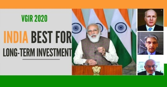 VGIR 2020 was attended by 20 top institutional investors, roundtable meeting was chaired by the PM Narendra Modi for global investors
