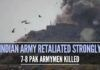 Several Pak army bunkers, fuel/ ammunition dumps decimated in punitive strikes after the Indian Army retaliated strongly
