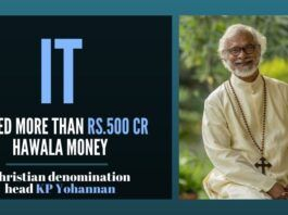 IT raids on Christian denomination head K P Yohannan, who operates about 30 trusts registered across the country, most of them exist only on paper