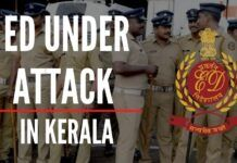 ED officials prevented from leaving the premises by Kerala Police while conducting the raid in connection with the investigation into the financial dealings of Bineesh Kodiyeri
