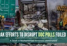 Pak's conspiracy to disrupt DDC polls foiled, huge quantities of arms and ammunition recovered
