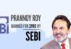 SEBI banned Prannoy Roy, Radhika, and Vikram Chandra from stock exchanges trading for insider trading and rigging of NDTV's shares in stock exchanges