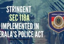 New controversial Sec 118A implemented by State Govt empowers police to take action against any social media posts which are offensive and defamatory
