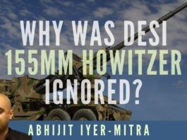 Is it incompetence or corruption that drove the GOI to choose Elbit Systems Howitzers when three Indian vendors had similar designs? DRDO (a reverse-engineered version of the Bofors), Tatas and Kalyani Systems all have 155 mm Howitzer guns and yet GOI wants to purchase from Israel. Abhijit Iyer-Mitra unravels this mystery in this must-watch video.