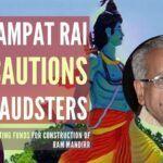 Champat Rai cautions fraudsters
