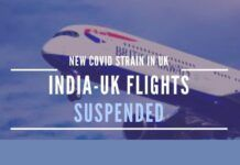 Several countries, including India have suspended passenger flights to the UK. Cargo can still fly.