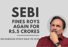 SEBI fines NDTV again on the dubious stock sale to VCPL