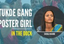 Tukde Tukde gang poster girl Shehla Rashid once again in the dock after her father Abdul Rashid Shor alleges he is facing life threats for her