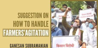 The author here has wisely suggested the government on trying 3 possible ways to end the on-going farmers' agitation