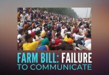 A good deed (farm bill) is being punished due to failure to communicate