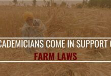 Academicians come in support of Farm laws