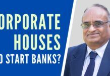 Prof R Vaidyanathan looks down the memory lane and explains how up until the Bank Nationalisation decision of Indira Gandhi in 1969 that private entities were the one owning and operating banks. For the most part, the companies took depositor money and placed it in their own companies, giving them a good equity pool. A must watch discussion, if you want to understand why Banks were nationalised and how to put checks and balances to ensure private banks serve the purpose.
