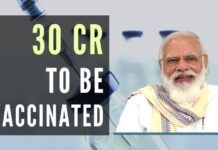PM Modi reveals an ambitious plan to vaccinate 30 crores in the next few months