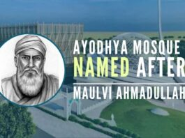 New Ayodhya mosque may be named after 1857 Sepoy Mutiny warrior