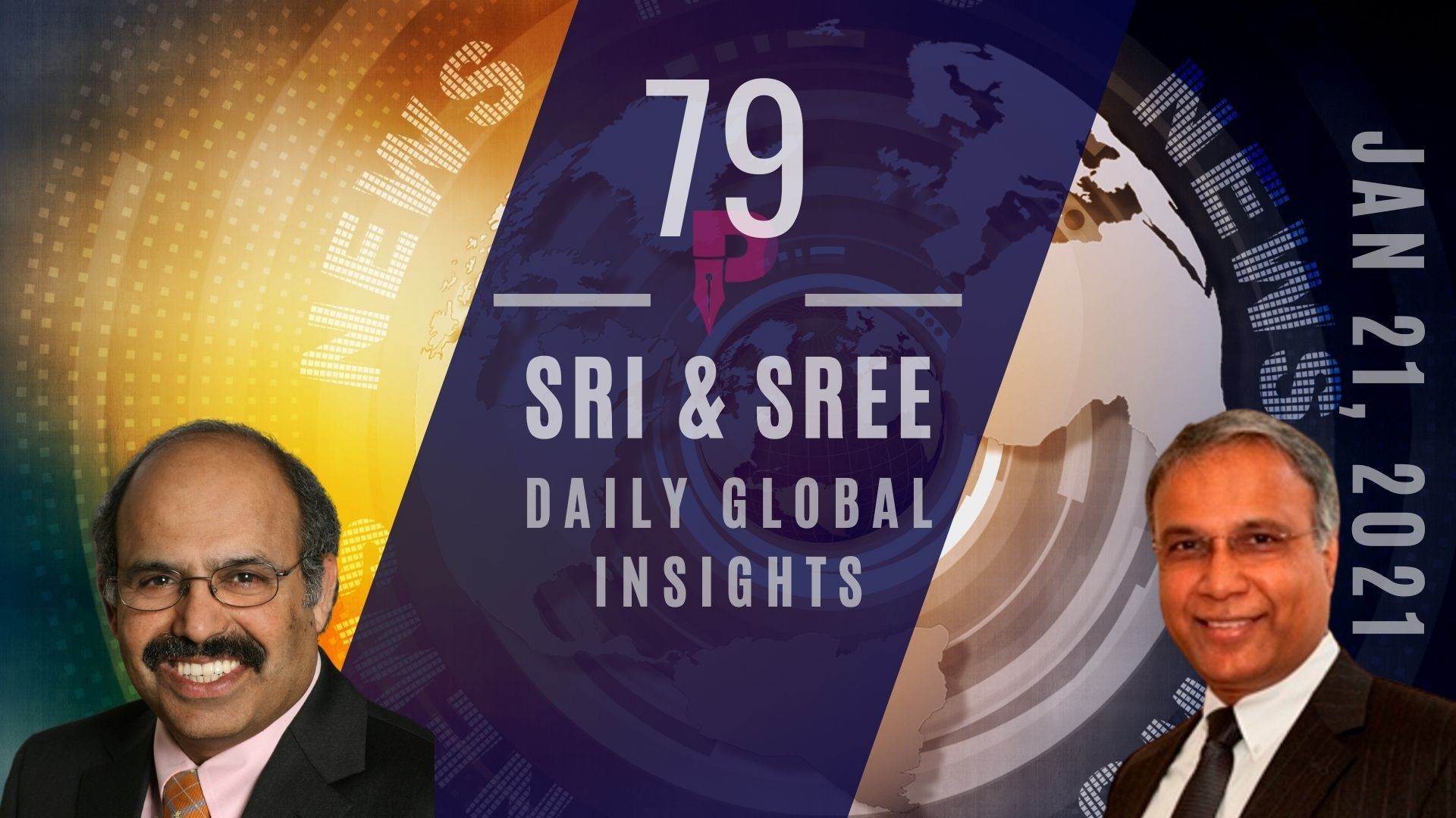 #DailyGlobalInsights #EP79 Biden's first day - 17 Exec actions signed. Keystone XL pipeline canned. Amazon India, AWS are making big moves in India & more