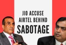 Airtel fires back at Jio on accusations it is inciting farmers to bring down Jio towers