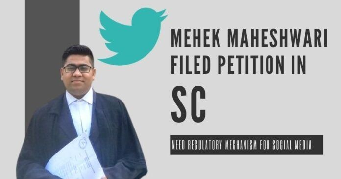 Young lawyer files PIL in the Supreme Court, urges GOI form rules for SM