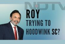 Are Prannoy Roy and Radhika Roy trying to hoodwink the Supreme Court?