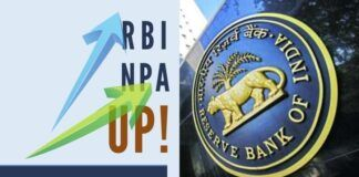 The harsh truth of the NPA carried by India's Banks thanks to UPA comes out