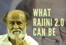 No one is better placed to create systemic transformational changes in Tamilnadu than Rajini since he's the leader with lakhs of personally committed supporters