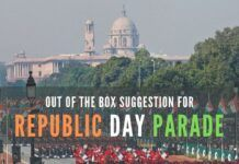An out of the box suggestion for where to conduct the Republic Day Parade