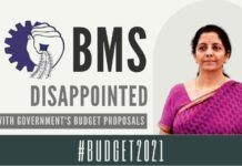 Barring a few bright spots, RSS-aligned trade union BMS pans the 2021 budget