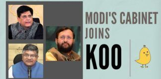Prakash Javadekar, Piyush Goyal, Ravi Shankar Prasad joined the Koo App, more ministers from Modi's Cabinet to join the Koo App soon