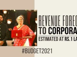 Reduced revenues from the projected numbers adds to the concern of GOI